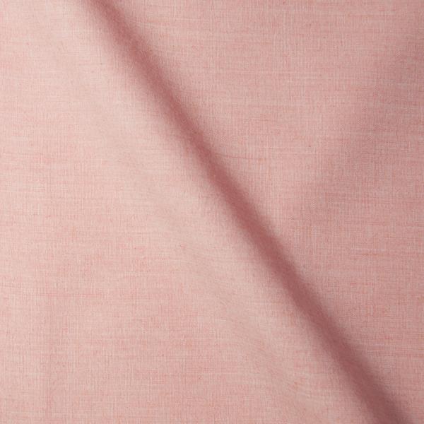 ピンク無地柄の生地を各15cm