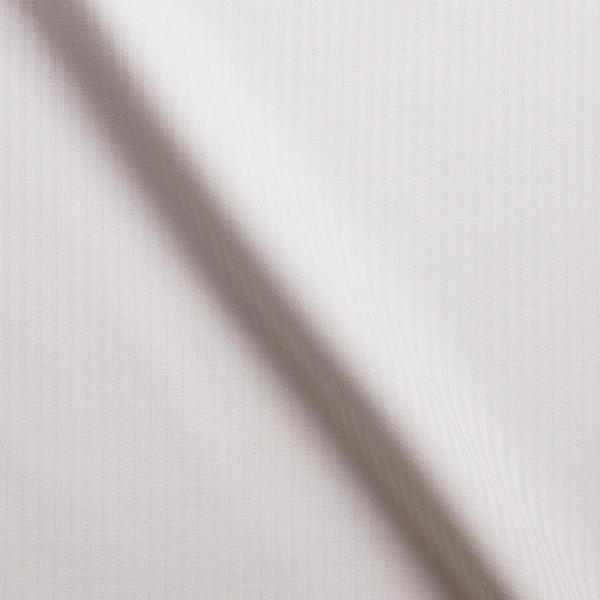 ホワイトストライプ柄の生地を各15cm