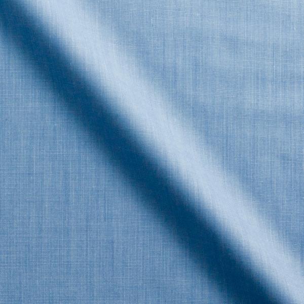 ブルーの生地の定番。厚みもあり、肌触りも良い。寒くなってきた辺りにピッタリの生地。